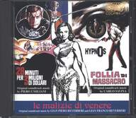 Gian Piero Reverberi/Gianfranco Reverberi/Piero Umiliani/Carlo Savina: Le Malizie Di Venere / 28 Minuti Per 3 Milioni Di Dollari / Hypnos - Follia Di Massacro (Original Soundtrack Music From The Films)