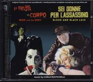 Carlo Rustichelli: La Frusta E Il Corpo / Sei Donne Per L'Assassino (Original Motion Picture Soundtracks / World Premiere Complete Recordings On Two Discs Set)