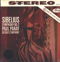 Jean Sibelius/Paul Paray/Detroit Symphony Orchestra: Symphony No. 2 In D Major, Op. 43
