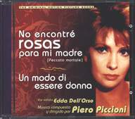 Piero Piccioni: No encontré rosas para mi madre / Un modo di essere donna (Original motion picture soundtracks)