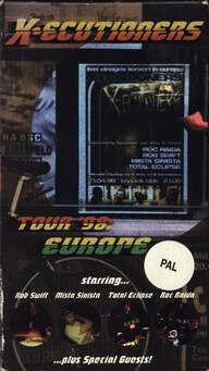 The X-Ecutioners: European Tour 98