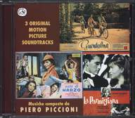 Piero Piccioni: 3 Original Motion Picture Soundtracks: Guendalina - Nata Di Marzo - La Parmigiana