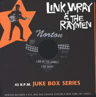 Link Wray And His Ray Men: Branded / Law Of The Jungle
