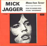 Mick Jagger: Memo From Turner / Natural Magic