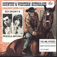Roy Drusky / Priscilla Mitchell: Yes, Mr. Peters / More Than We Deserve