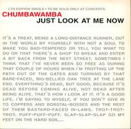 Chumbawamba: Just Look At Me Now