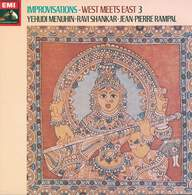 Yehudi Menuhin / Ravi Shankar / Jean-Pierre Rampal: Improvisations - West Meets East 3