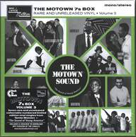 Various: The Motown 7s Box (Rare And Unreleased Vinyl • Volume 3)