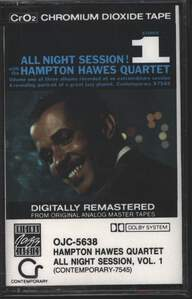 Hampton Hawes Quartet: All Night Session, Vol. 1