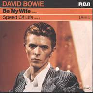 David Bowie: Be My Wife