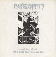 Integrity (2): ... And For Those Who Still Fear Tomorrow.