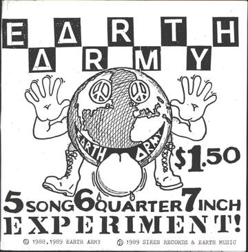 Earth Army: 5 Song 6 Quarter 7 Inch Experiment