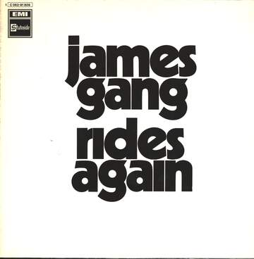 James Gang: James Gang Rides Again
