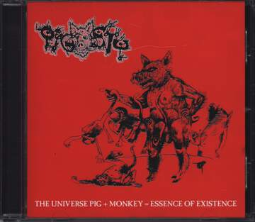 Pigsty / Cativeiro: The Universe Pig + Monkey = Essence Of Existence / Untitled