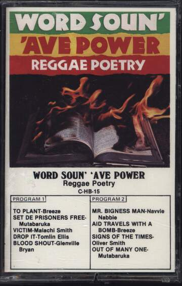 Various: Word Soun' 'Ave Power - Reggae Poetry