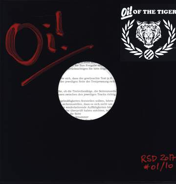 Oi! Of The Tiger: R.A.S.H. - RSD 2017 edition!