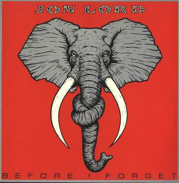 Jon Lord: Before I Forget