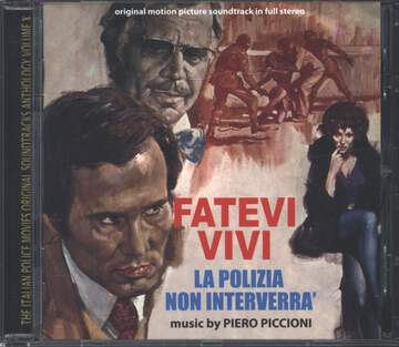 Piero Piccioni: Fatevi Vivi La Polizia Non Interverrà (Original Soundtrack In Full Stereo)