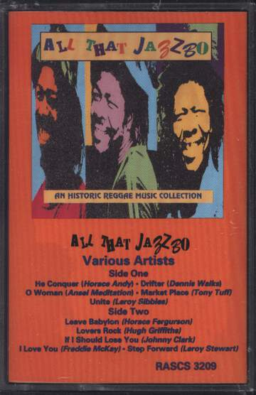 Various: All That Jazzbo: An Historic Reggae Music Collection
