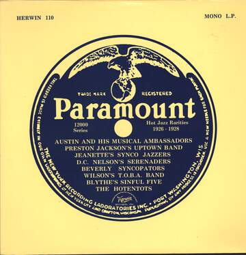Various: Paramount Hot Jazz Rarities 1926-1928