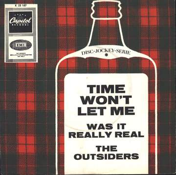 The Outsiders: Time Won't Let Me / Was It Really Real