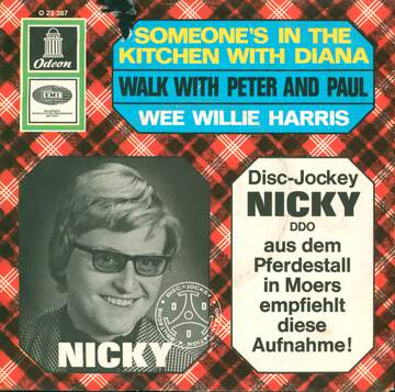 Wee Willie Harris: Someone´s In The Kitchen With Diana / Walk With Peter And Paul