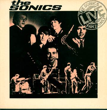 The Sonics: Live Fanz Only