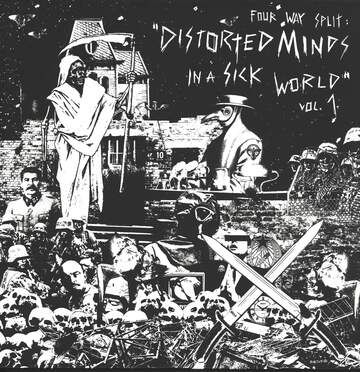Fear Of Extinction / Final Slum War / Krüger / Diskobra: Distorted Minds In A Sick World Vol. 1