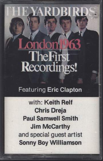 The Yardbirds: London 1963 - The First Recordings!