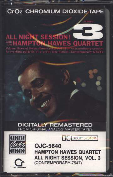 Hampton Hawes Quartet: All Night Session, Vol. 3