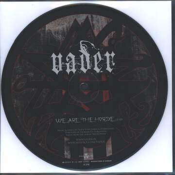 Vader / Nile: We Are The Horde / Permitting The Noble Dead To Descend To The Underworld