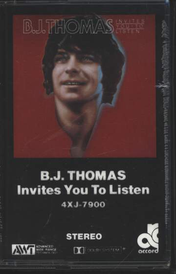 B.J. Thomas: B.J. Thomas Invites You To Listen