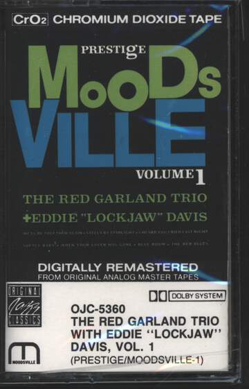 "The Red Garland Trio / Eddie ""Lockjaw"" Davis: Moodsville Volume 1"