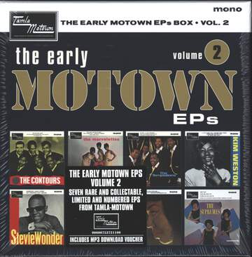 Various: The Early Motown EPs Box Volume 2