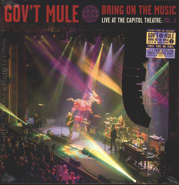 Gov't Mule: Bring On The Music, Live At The Capitol Theatre Vol.3