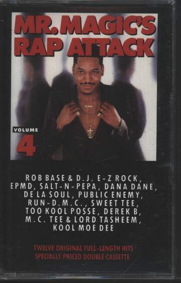 Mr. Magic: Mr. Magic's Rap Attack Volume 4