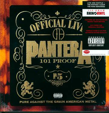Pantera: Official Live: 101 Proof