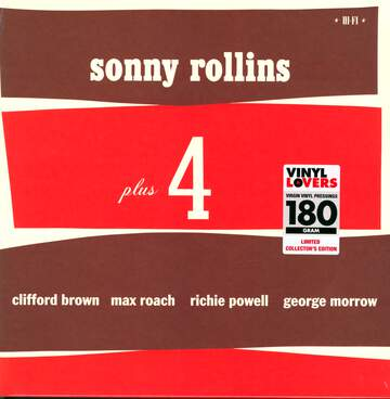 Sonny Rollins / Clifford Brown / Max Roach / Richie Powell / George Morrow: Sonny Rollins Plus 4