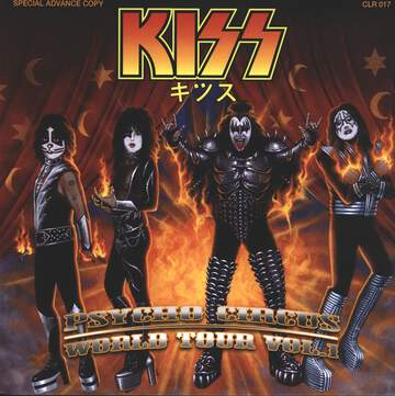 Kiss: Psycho Circus World Tour Vol. 1