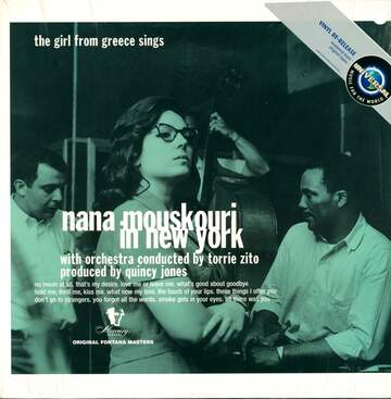 Nana Mouskouri: Nana Mouskouri In New York - The Girl From Greece Sings