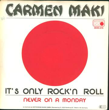 Carmen Maki: It's Only Rock'n Roll