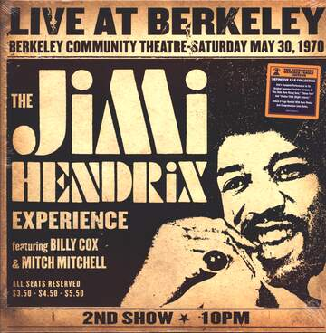 The Jimi Hendrix Experience: Live At Berkeley