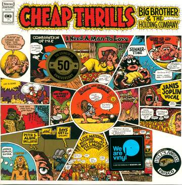 Janis Joplin / Big Brother & The Holding Company: Cheap Thrills