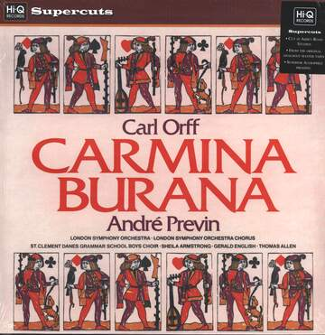 Carl Orff / André Previn / The London Symphony Orchestra: Carmina Burana