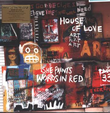 The House Of Love: She Paints Words In Red