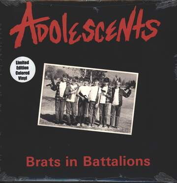 Adolescents: Brats In Battalions