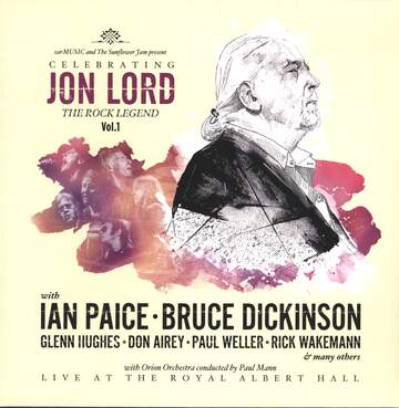 Various: Celebrating Jon Lord, The Rock Legend, Vol.1