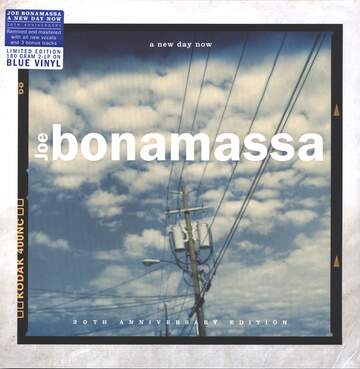 Joe Bonamassa: A New Day Now - 20th Anniversary Edition