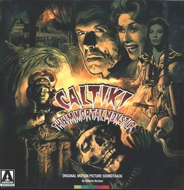 Roberto Nicolosi: Caltiki The Immortal Monster - Original Motion Picture Soundtrack