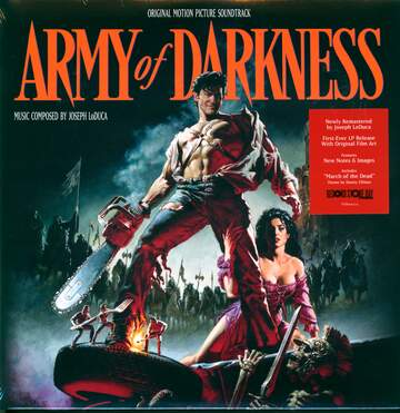 Danny Elfman / Joseph LoDuca: Army Of Darkness (Original Motion Picture Soundtrack)